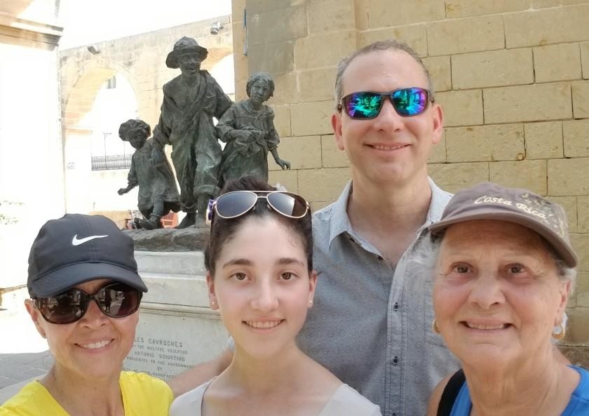 Baracca Gardens, Valletta, Malta 2019